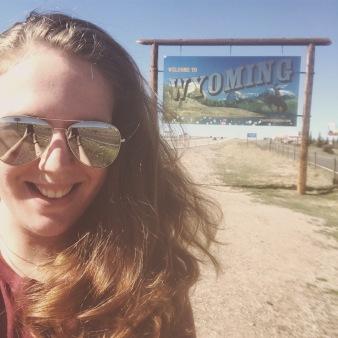 Wyoming border!