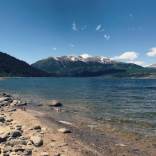 Twin Lakes, Leadville, CO