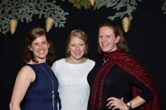 Sara, Amy Grace, & I on Amy Grace's wedding day